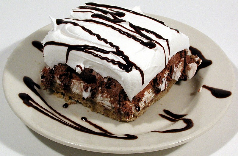 Mississippi Mud Pie ice cream