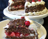 Blackforest Ice Cream Cake